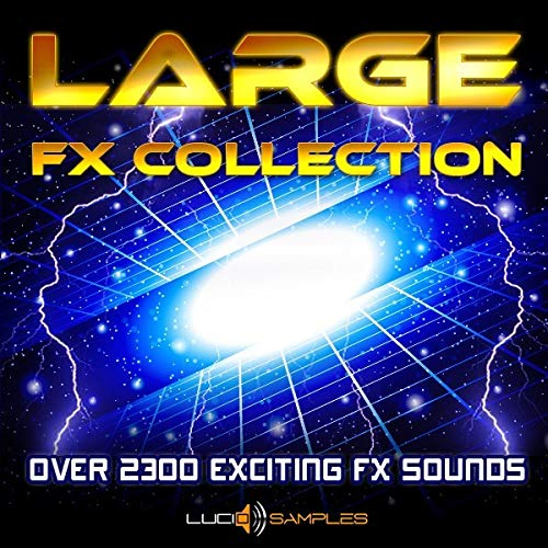 Large Fx Collection – Over 2000 Unique Sound Effects [WAV Files] [DVD non Box] de LucidSamples