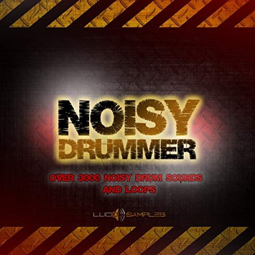 Noisy Drummer - Over 3000 Noisy Drum Sounds and Loops | DVD non Box de LucidSamples