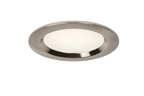 Lucide CIMIC-LED - Spot Encastrable Salle de bains - Ø 9 cm - LED - 1x10W 4000K - IP44 - Chrome Dépoli de Lucide