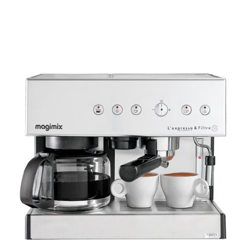 """Magimix 11407 Coffee Maker – Coffee Makers (vasques, combi Coffee Maker, GROUND Coffee, chrome, exprimé)"" de MAGIMIX"