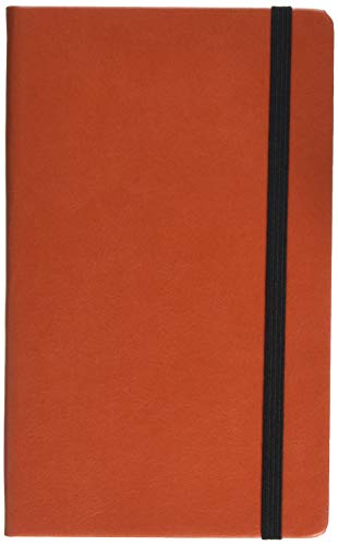 MAKENOTES MN-CL14 Perpetual Diary with vertical Elastic Band Orange Collection de MAKENOTES