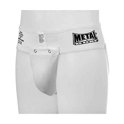 Metal Boxe Coquille slip Blanc Taille M de METAL BOXE