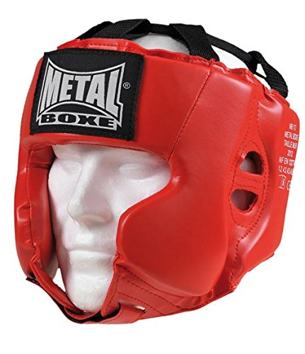 METAL BOXE MB117 Casque Rouge Senior de METAL BOXE
