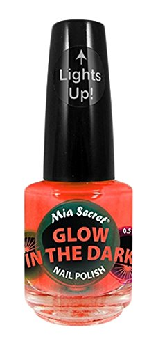 """MIA Secret Glow in the Dark Vernis à ongles, Orange 15 ml"" de MIA SECRET"