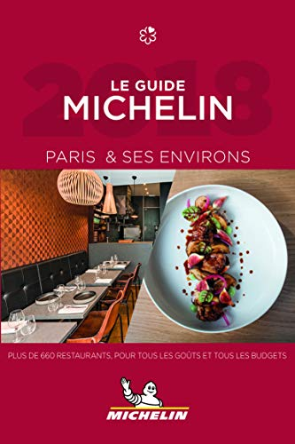Le guide MICHELIN Paris & ses environs 2018 de MICHELIN