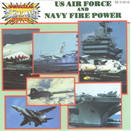 Us Air Force & Navy Fire Power de Madacy Records