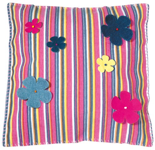 Made by You 13063 Coussin Motif flower power de Made by You