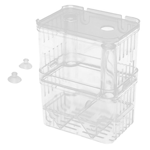 MagiDeal Boîte de Reproduction Aquarium Pondoir Isoloir Ecloserie Plastique de MagiDeal