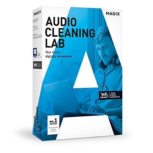 MAGIX Audio Cleaning Lab – 2017 – Remasterisation numérique de Magix