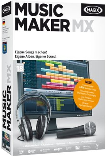 MAGIX Music Maker MX (V.18) [import allemand] de Magix