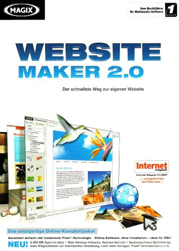 MAGIX Website Maker 2.0 [import allemand] de Magix