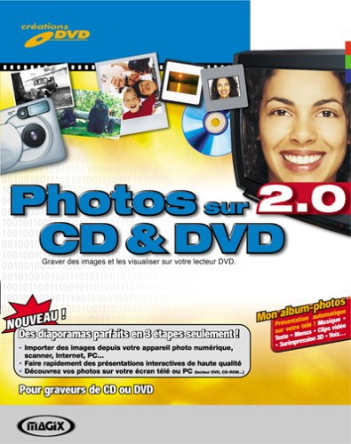 Photos sur CD & DVD 2.0 de Magix