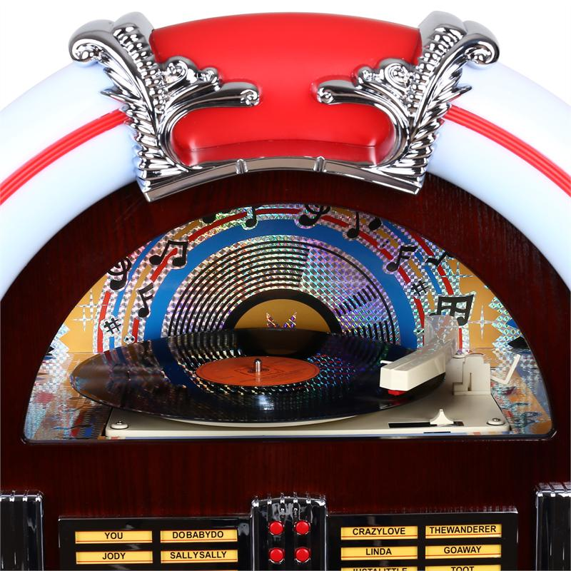 [RECONDITIONNÉ] - Majestic/Audiola JB 3710TT Jukebox USB SD CD AUX Radio de Majestic