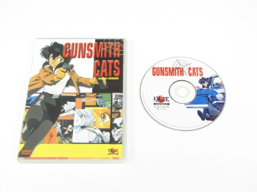 Gunsmith Cat's (3 épisodes) de Manga Distribution