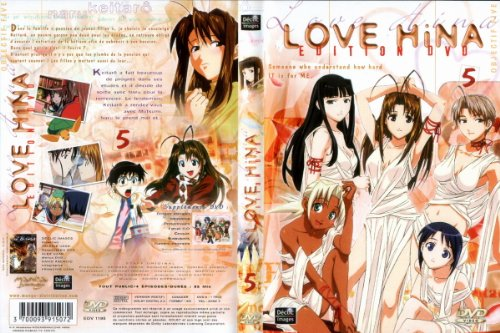 Love Hina - Vol.5 (5 épisodes) de Manga Distribution