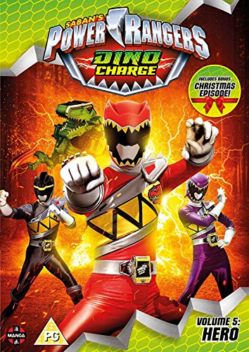 Power Rangers Dino Charge: Hero (Volume 5) Episodes 18-22 (Incl. Christmas Special) [Edizione: Regno Unito] [Import anglais] de Manga Entertainment