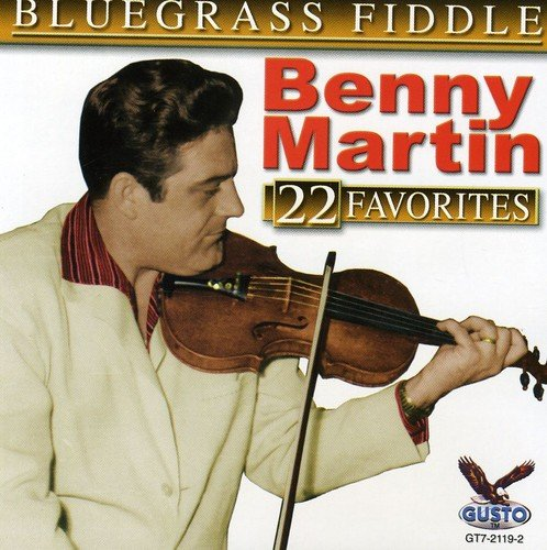 Bluegrass Fiddle-22 Favorite [Import USA] de Martin, Benny
