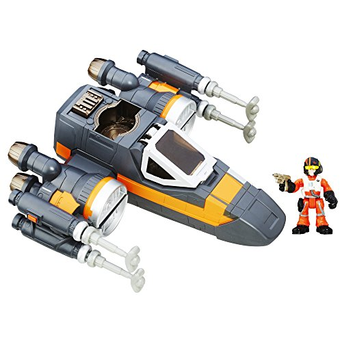 Star Wars Playskool Heroes Galactic Heroes Poe's X-Wing Fighter de Star Wars