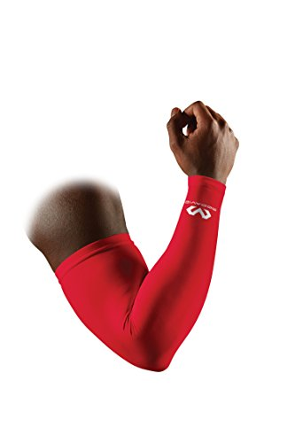 Mcdavid Power Shooter Manchon de bras compression Scarlet S / M de McDavid