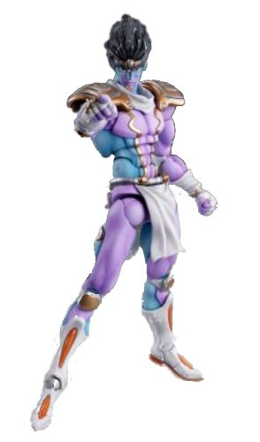 Super Figure Action [JoJo`s Bizarre Adventure] Part IV 28.Star Platinum (Hirohiko Araki Specify Color) (PVC Figure) de MediCos