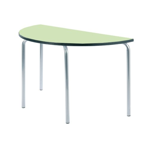 èquation de table, Duraform PU Charbon de bois Edge de Metalliform