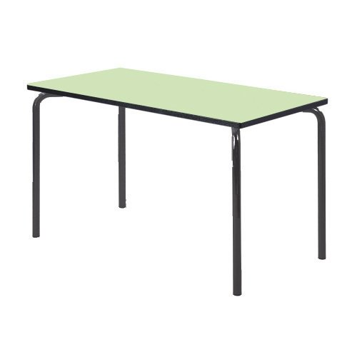 Metalliform Equpr-157-ps-gr-64-bk-soft Citron èquation de table avec Duraform PU Vert Edge, souple, Citron vert de Metalliform