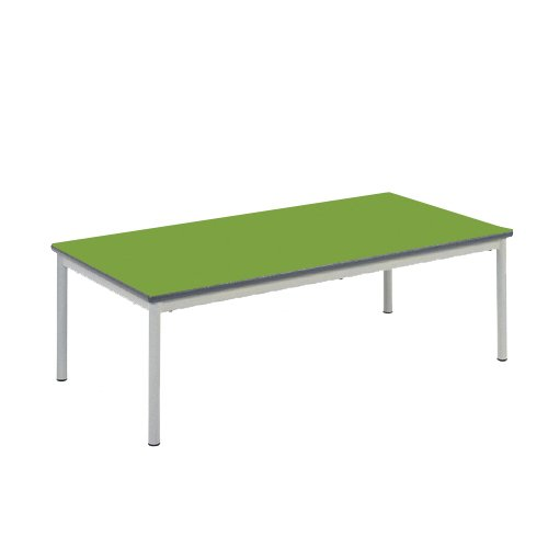 Metalliform Rt32–126–38-ps-lg- Table basse, Duraform PU Gris clair Edge, Tangy Green, 1 de Metalliform