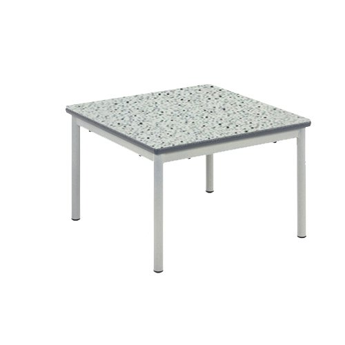 Metalliform Rt32–66–38-ps-bl- Table basse, Duraform PU Bleu Edge, Grey Speckle, 1 de Metalliform