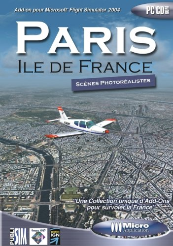 Add-on pour Flight Simulator : Paris Ile de France de Micro-application