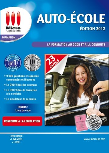 Auto école - édition 2012 de Micro Application