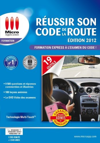 Réussir son code de la route - édition 2012 de Micro Application