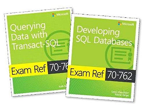 MCSA SQL Server 2016 Database Development Exam Ref 2-pack: Exam Refs 70-761 and 70-762 de Microsoft Press