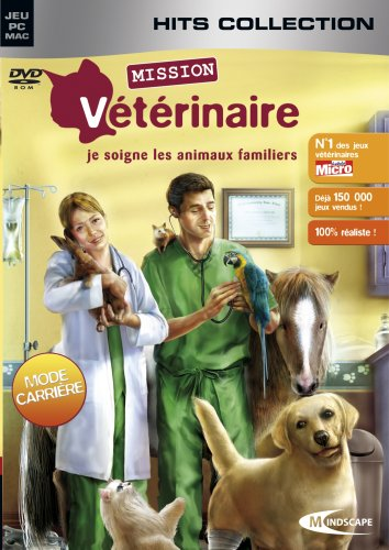 Mission veterinaire : je soigne les animaux familiers - hits collection de Mindscape