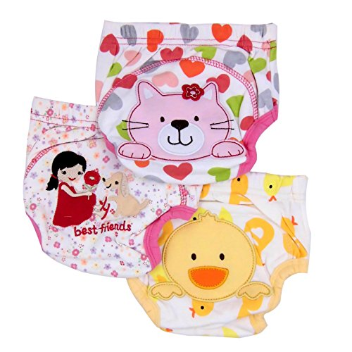"""Mom de soins Lot de 3 x Enfant Potty (Kitty, canard & amis)-18 Mois"" de Mom's Care"
