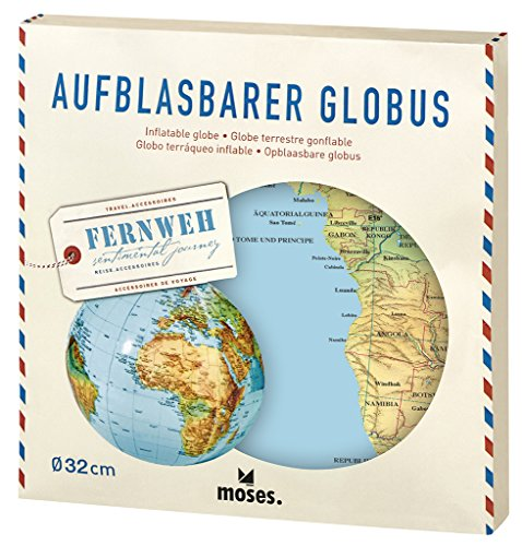 moses. 82326 Aventurier Gonflable Globe de moses