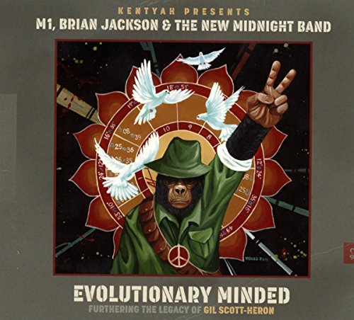 Evolutionary Minded : Furthering the Legacy of Gil Scott-Heron de PIAS-MOTEMA