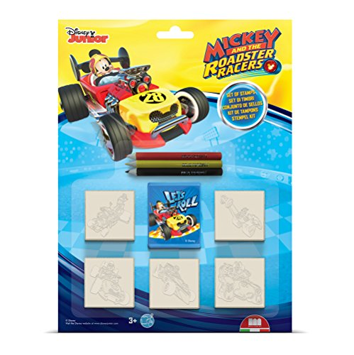 Multiprint 05945 - Set 5 Tampons Mickey Roadster Racers de Multiprint