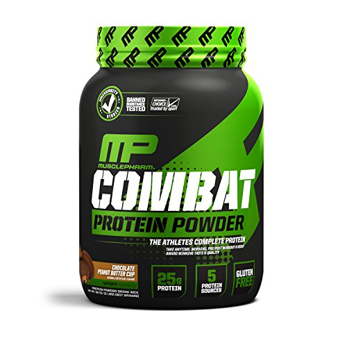 COMBAT POWDER 900 gr MusclePharm - chocolat beurre de cacahuètes de MusclePharm