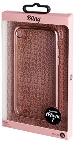 Muvit MLBKC0087 Coque pour iPhone 7 Kalei Transparent de Muvit