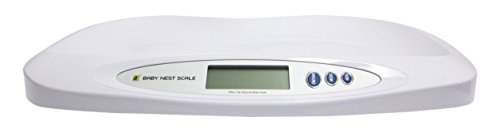 MY WEIGH Jennings Nest Scale Pèse Bébé Blanc 20 kg x 5 g de My Weigh