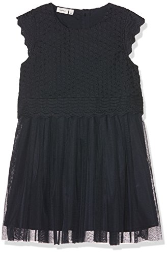 Name It Nmffakora Capsl Dress Wl, Robe Fille, Bleu (Dark Sapphire Dark Sapphire), 92 de Name It