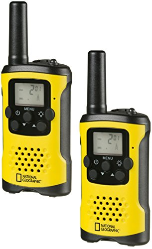National Geographic 9111400 PMR Talkie Walkie Jaune de National Geographic