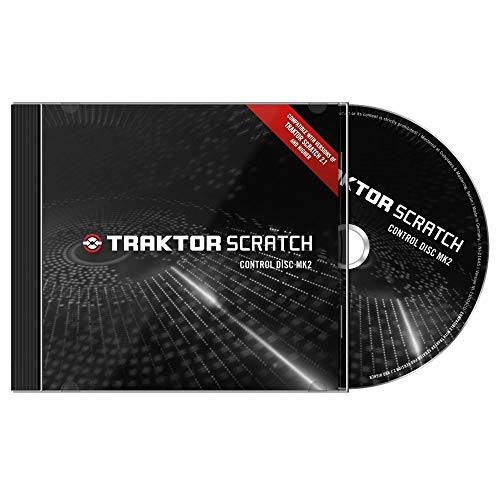 Native Instruments Paire de CD pour Traktor Scratch Noir de Native Instruments