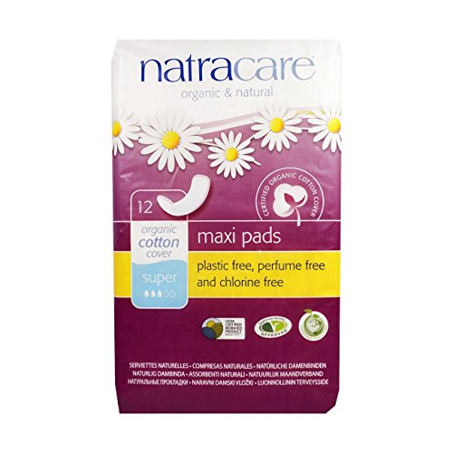 Natracare Lot de 12 protections hygiéniques naturelles Super de Natracare