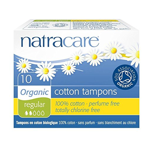 Natracare Organic All Cotton Regular Non-Applicator Tampons de Natracare