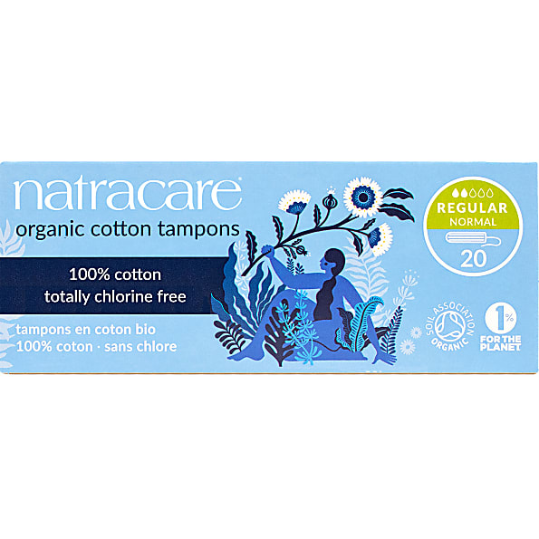 Natracare - Tampon en Coton Bio (Regular (20)) de Natracare