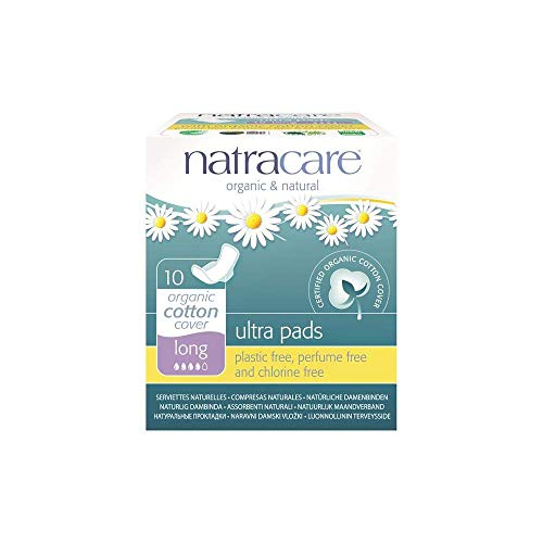 (Pack Of 2) Ultra Pads with Wings Long | NATRACARE de Natracare