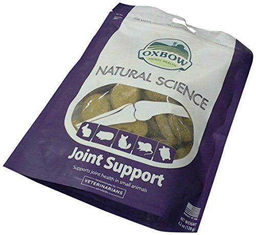 OXBOW Animal Health Natural Science Joint Support Supplements Hay Based Tab 60ct de Oxbow