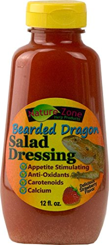 Nature Zone Salad Dressing for Bearded Dragons 12oz by Nature Zone de Nature Zone