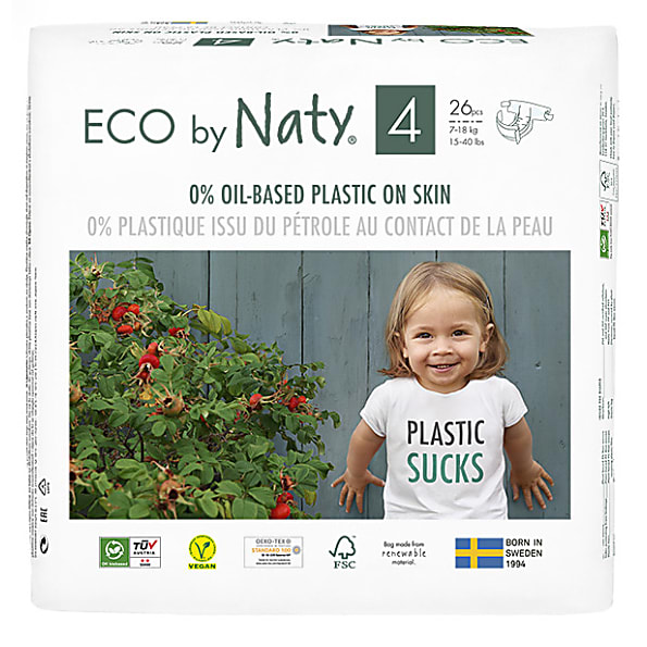 Naty by Nature Babycare - Couches : Taille 4 de Naty